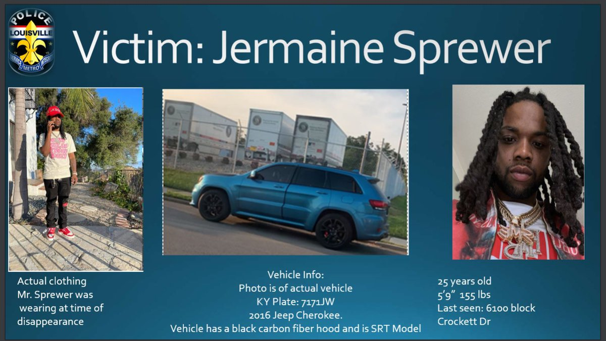 LMPD investigators said a Louisville man may have been kidnapped and is being held for ransom.