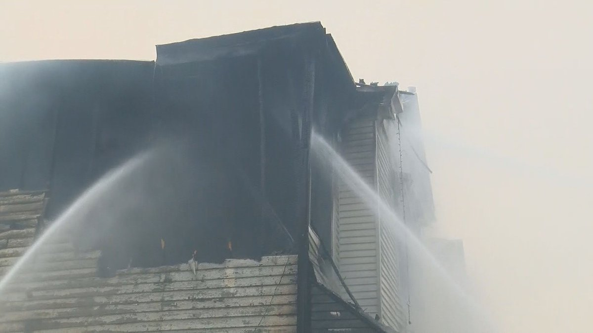 The fire was reported at the intersection of 22nd and Bank Streets around 6:10 a.m. Friday,...