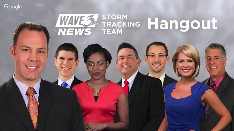WAVE 3 News Storm Tracking Team Hangout