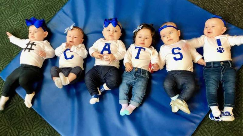 The love for the Kentucky Wildcats starts early, and for some, their cheers are beginning...