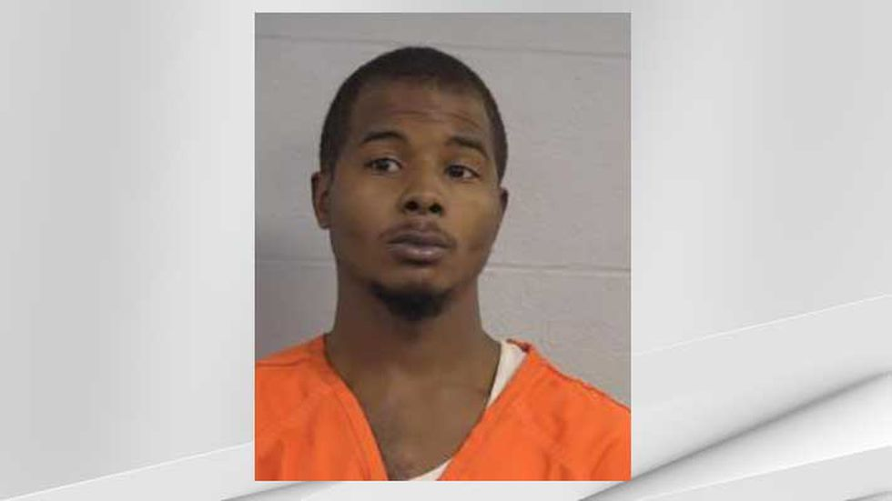 Larynzo D. Johnson is charged with two counts of assault on a police officer and 14 counts of...