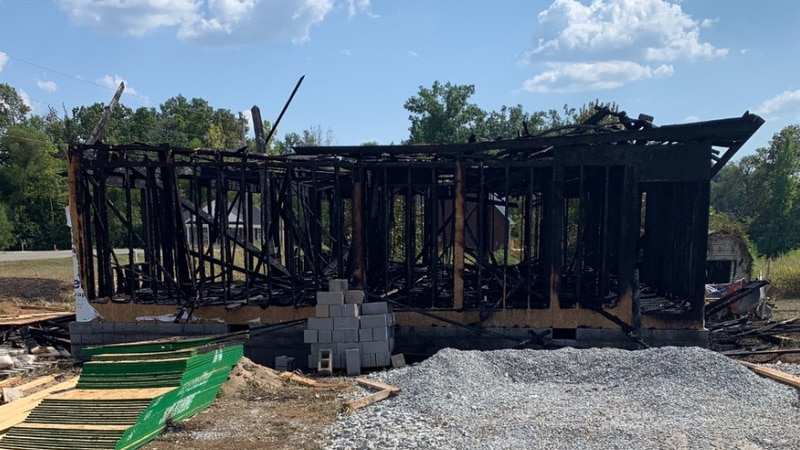 The home is a total loss. (Source:  Chief Mattingly/Bardstown Fire Department)