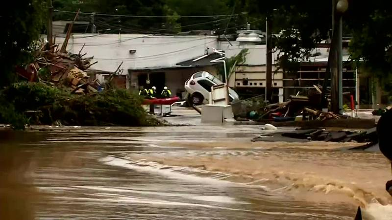 Catastrophic flooding in Middle Tennessee left at least eight dead and dozens missing Saturday...