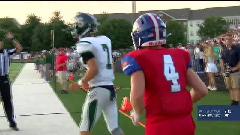 Per KHSAA's website, nearly two dozen high school football games were cancelled across Kentucky.