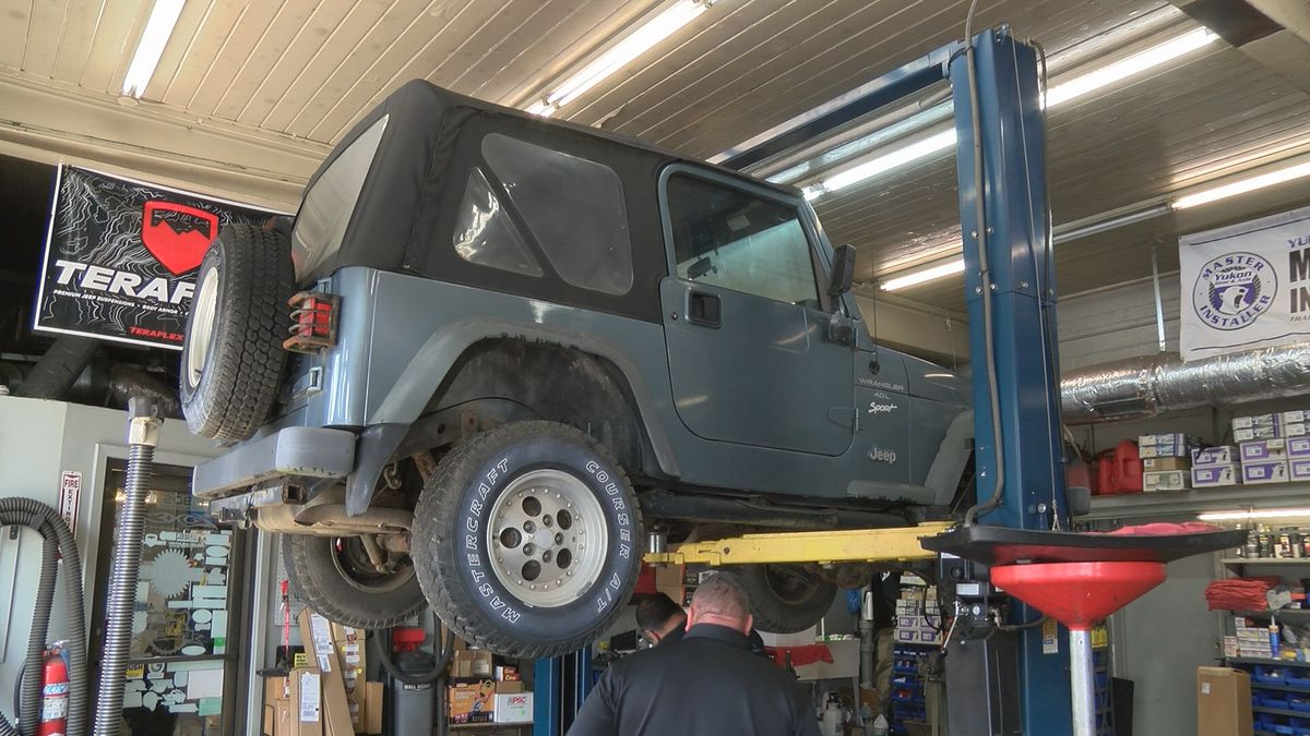 The new program will help teach them to learn vocational skills in the Automotive Industry.
