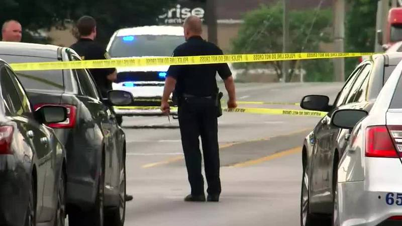 Officers from the LMPD were in the area investigating a different incident after shots were...