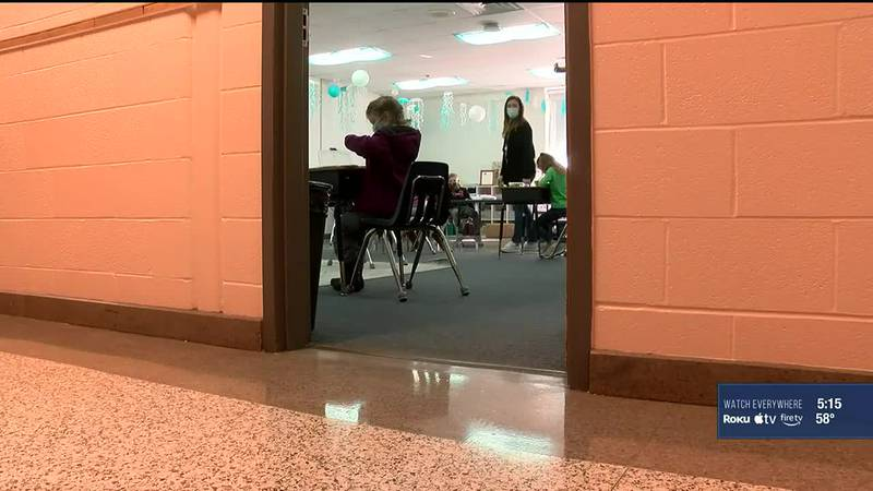 """Jefferson County Public Schools is working to implement a """"test-to-stay"""" program in hopes of..."""