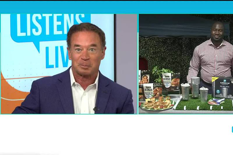 John Ramsey welcomes Tailgating Tips to the Listens Live Studio