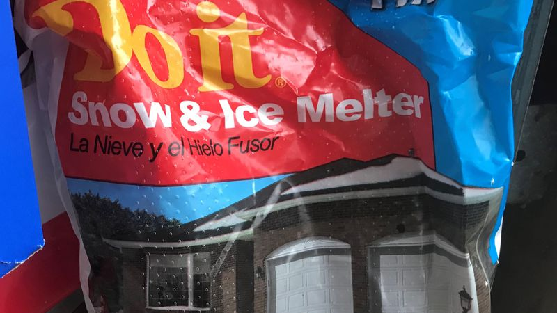 Whether you need de-icer for your windshield or ice melt for your walkway, now may be the time...