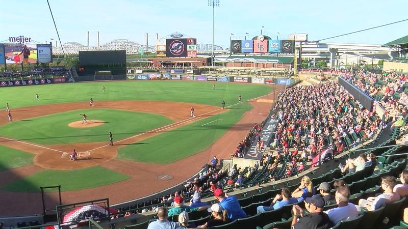 Re-Opening Night at Louisville Slugger Field