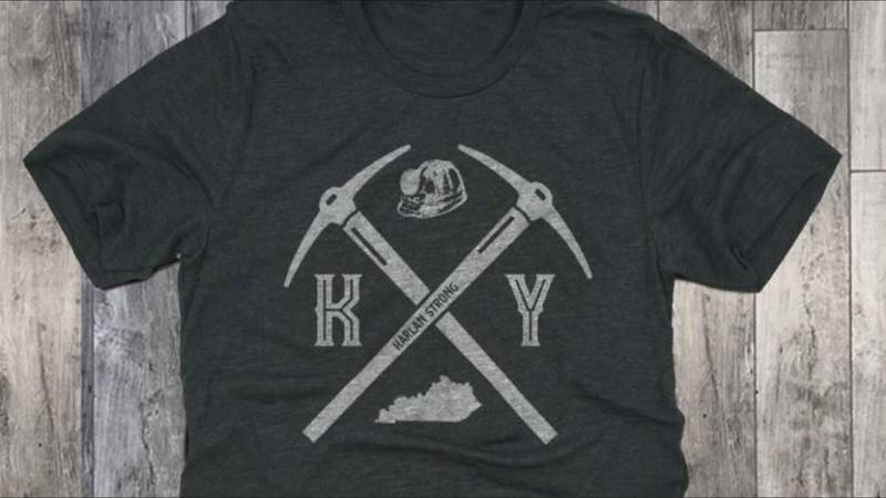 Shop Local Kentucky designed a T-shirt, with 100 percent of the proceeds go to help those miners.