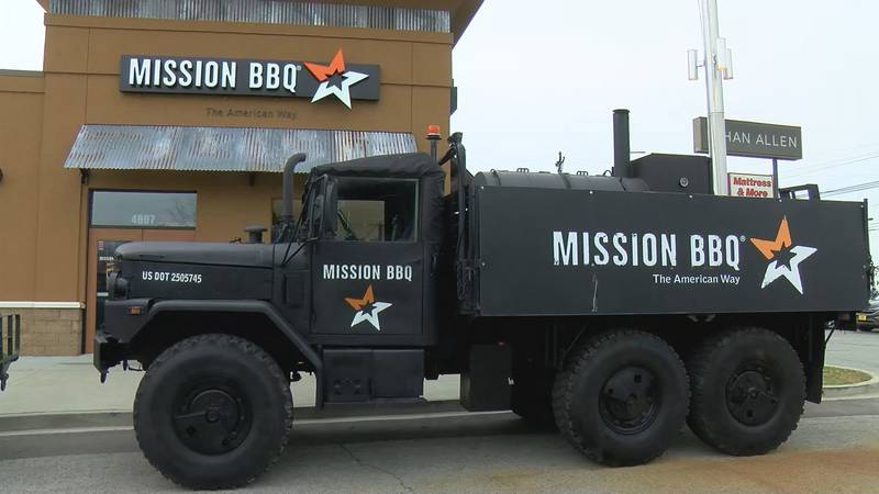Mission BBQ conducts efforts to give back to veterans organizations year-round.