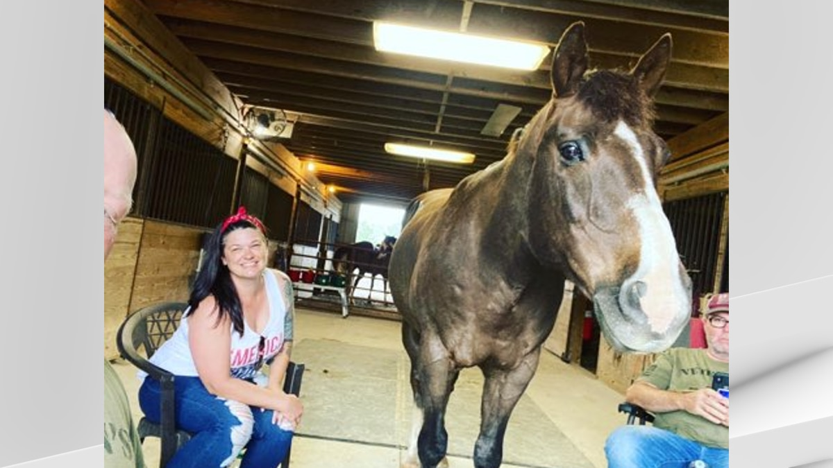 For the third year in a row, the organization hosted their annual Memorial Day equine session...