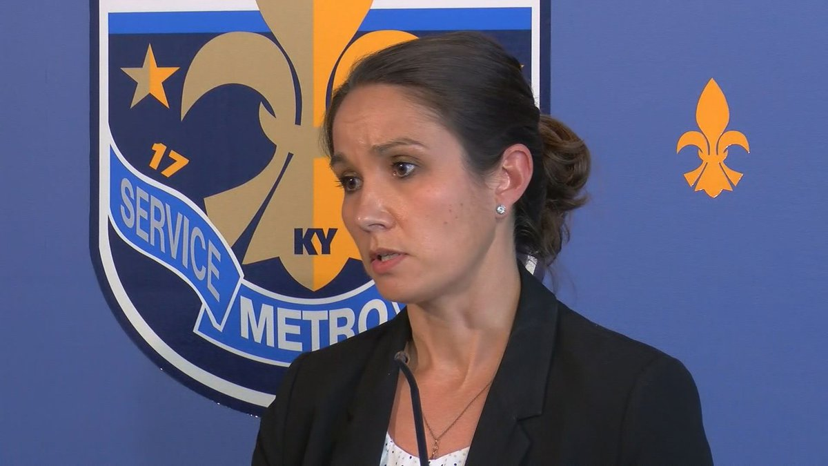 Lt. Emily McKinley has urged the community to step up in combating recent acts of violence and...