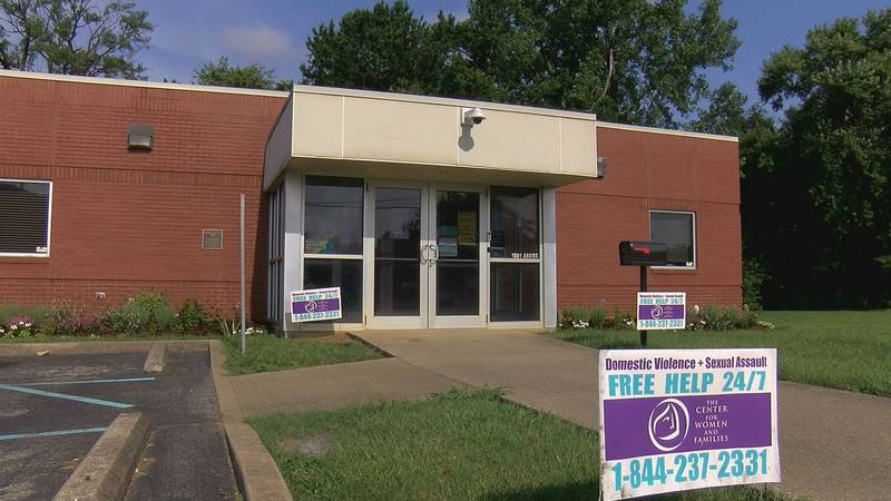 The Center for Women and Families campus in Southern Indiana at 1301 Akers Ave. in...