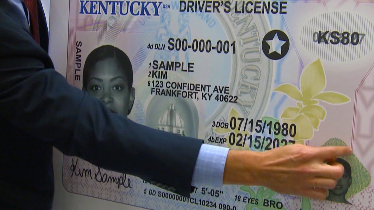 REAL IDs will be required at airport security checkpoints to board domestic flights and to...