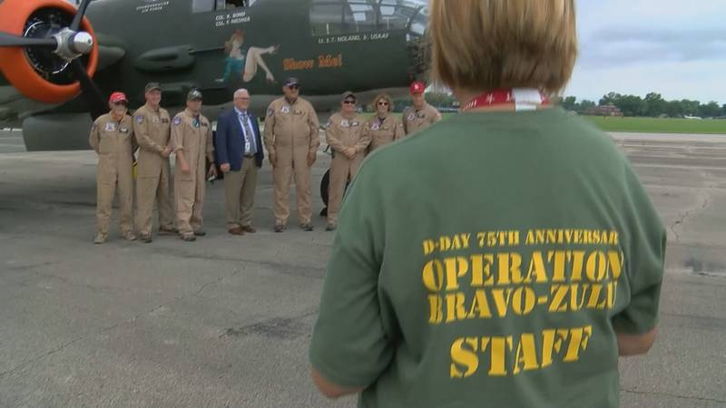 World War II veterans had the chance to fly again. (Source: WAVE 3 News)