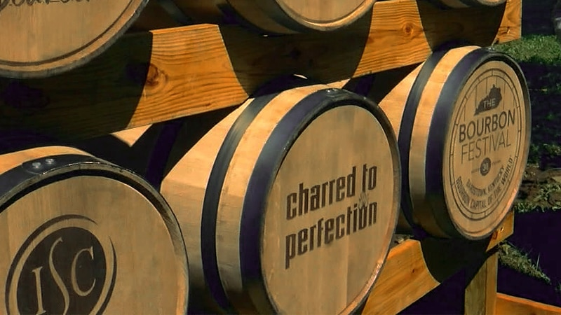 This is the first year for ticketed sales at the Kentucky Bourbon Festival, a change that...