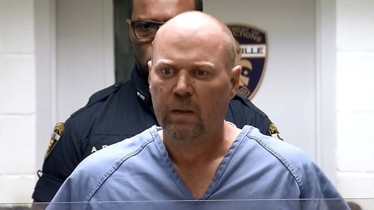 Gregory Bush is accused of shooting and killing two people at the Kroger store in Jeffersontown...