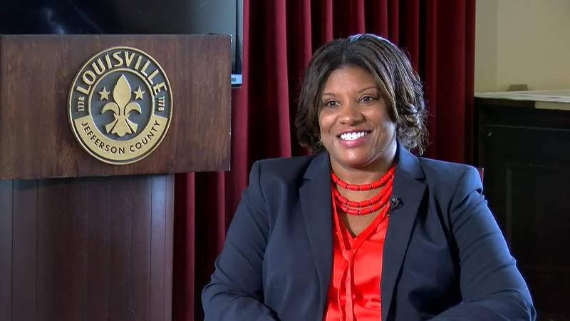 LMPD's new interim chief Yvette Gentry riffed on several topics in a sit-down interview with...