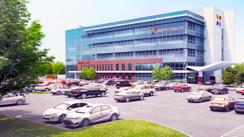 Baptist Health Breckenridge will be a 126,800 square foot, 5-story outpatient medical center...