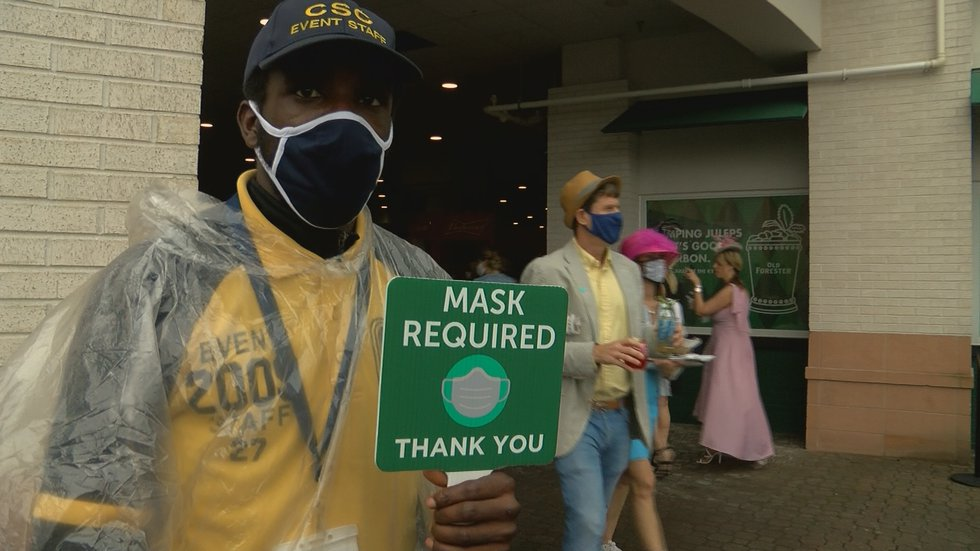 Masks are required throughout the week.