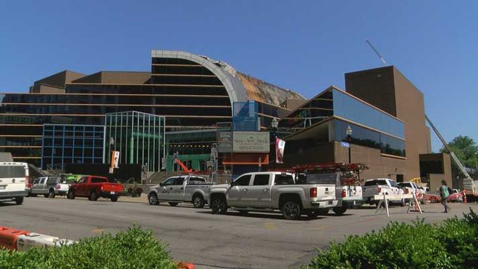 Kentucky Center was damaged by a 3-alarm fire on June 13. (Source: WAVE 3 News)