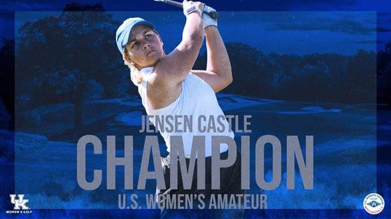 UK's Jensen Castle won the U.S. Women's Amateur