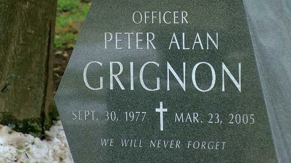 The memorial was held at Peter Grignon's at Cae Hill Cemetery (Source: Jobina Forston, WAVE 3...