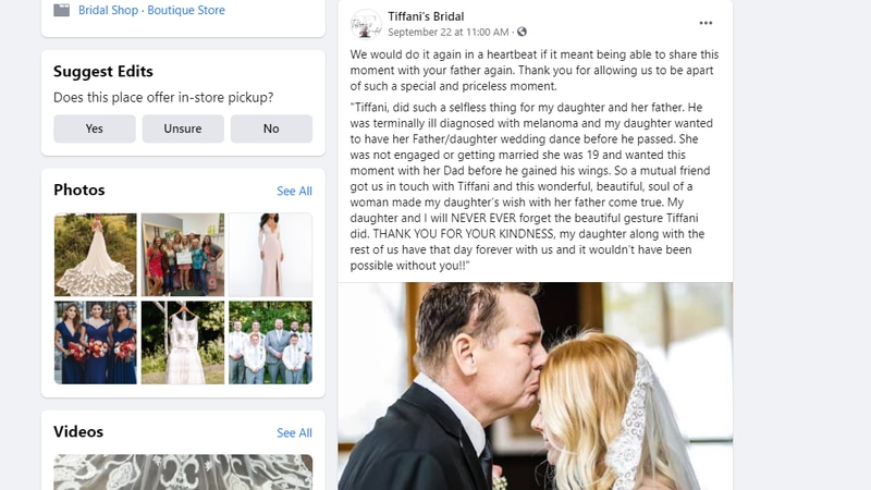 Kiley Gegare's mom posted on Facebook about the kindness of other that helped her daughter have...