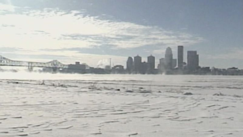 """The 1994 winter storm dumped 15.9"""" of snow on Louisville."""