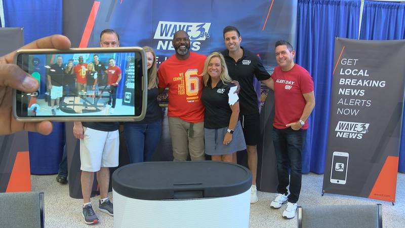 The WAVE 3 News team was excited to meet viewers and take some photos at the Kentucky State Fair.