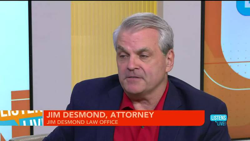 John Ramsey welcomes Desmond Law Office to the Listens Live Studio.