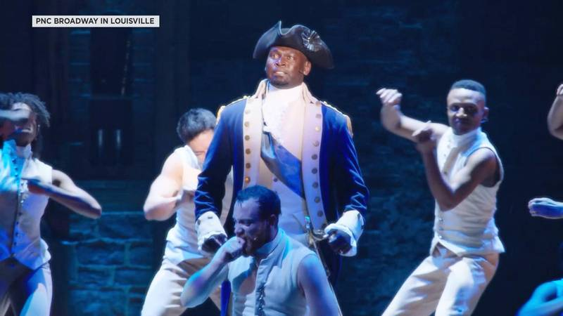 """""""Hamilton"""" is one of the shows scheduled to return to PNC Broadway in Louisville when..."""