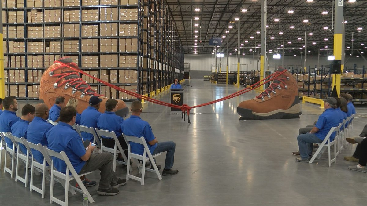 The new building houses Columbia Sportswear that will be distributed to retail stores across...