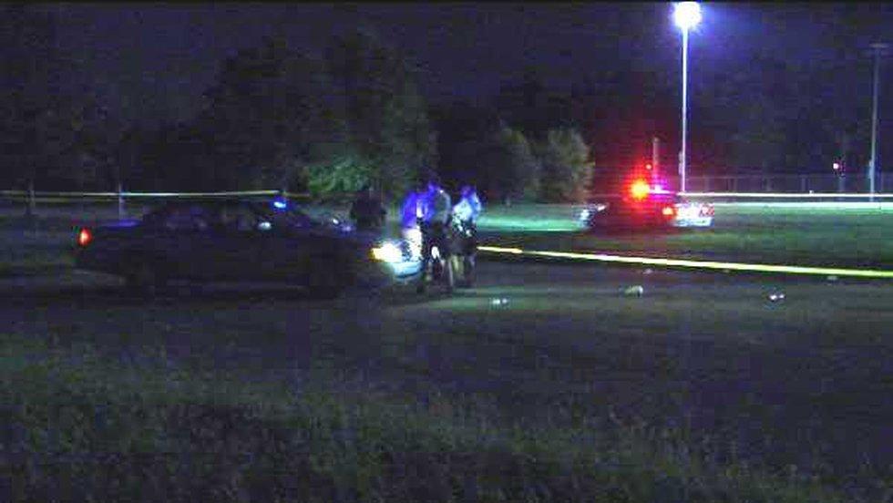 Scene of the Shawnee Park kickball game shootings on August 14