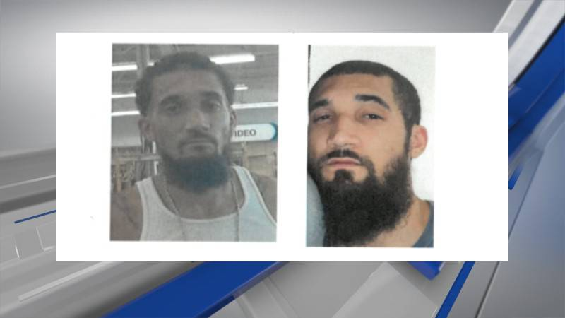 A stolen vehicle used by Kevin L. Thompson Jr., wanted for murder and robbery in Louisville,...