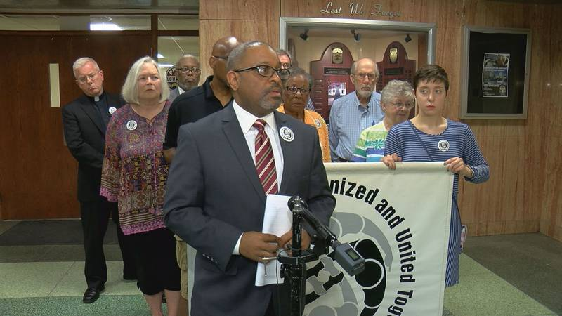 CLOUT said it has been working toward a meeting with LMPD Chief Steve Conrad for more than two...