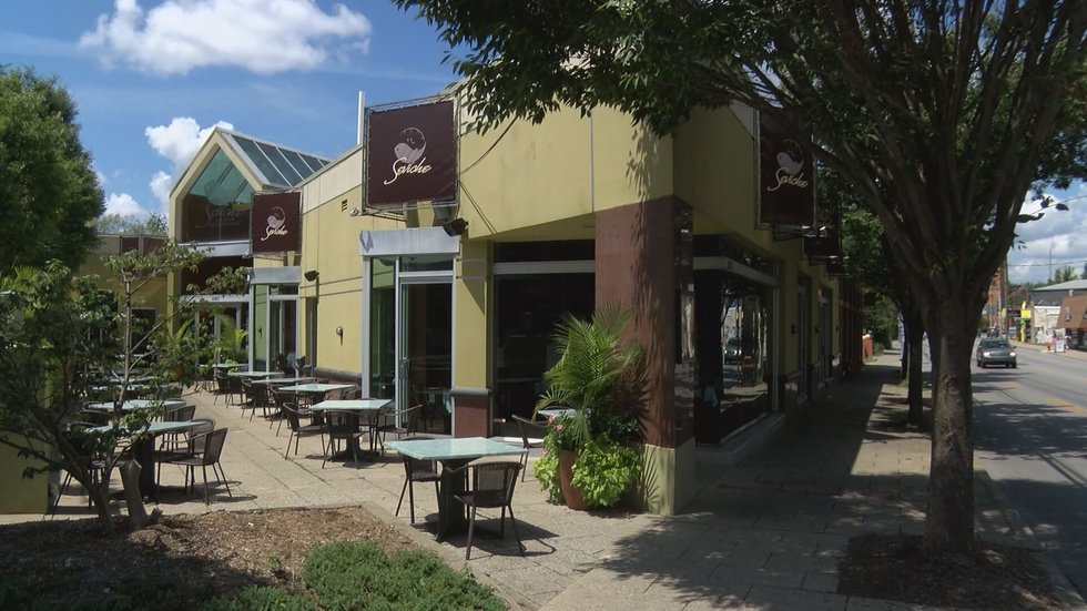KEntucky restaurants with outdoor seating will be able to use 100% of that space to seat...