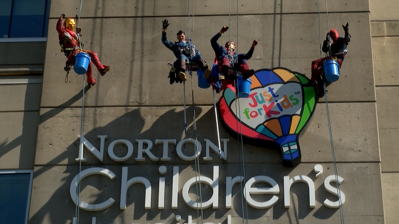 Monday morning, children within the hospital got a big surprise as Iron Man, Captain America,...