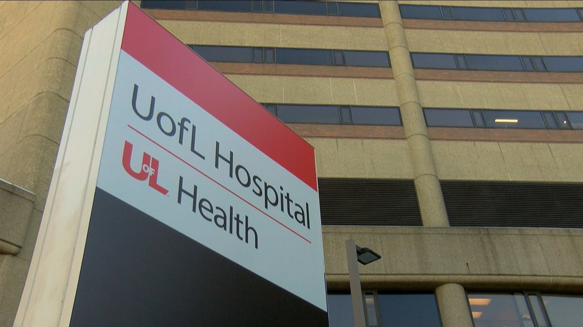 UofL Hospital is one of the 25 hospitals across the Commonwealth where Kentucky National Guard...