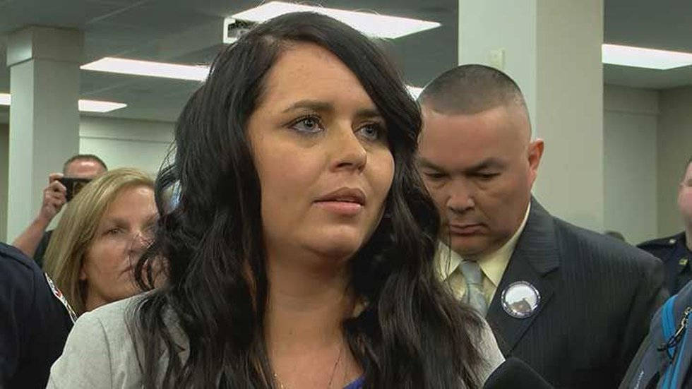 Ashley Rodman was married to LMPD Officer Nick Rodman, who was killed in the line of duty in...