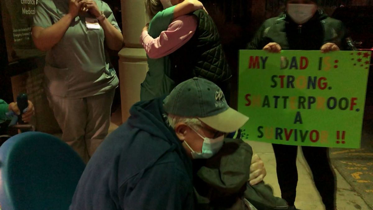 A man who spent 21 days in the ICU battling COVID-19 has been released from Baptist Health La...