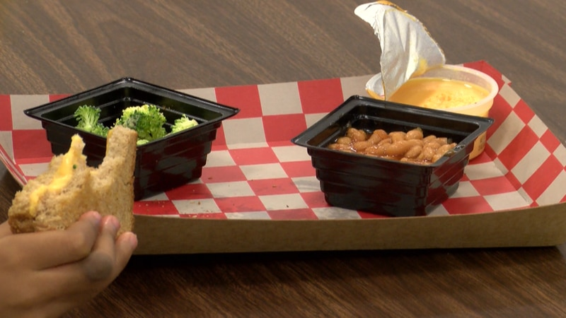 Jefferson County Public Schools cafeterias are having to improvise to overcome shortages...